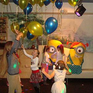 детские праздники в кафе