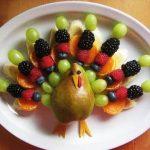фруктовая тарелка для детей